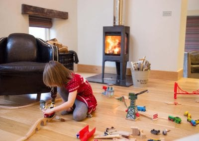 Children playing at Beech House Holidays